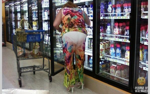 Funny People Shopping in WalMart Part 34_14