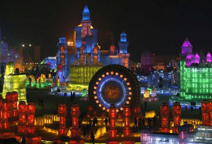 As esculturas surpreendentes do 2015 Harbin Ice E Festival de Neve (12)