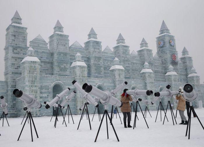As esculturas surpreendentes do 2015 Harbin Ice E Festival de Neve (5)