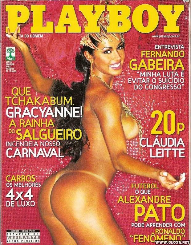 Playboy Gracyanne Barbosa