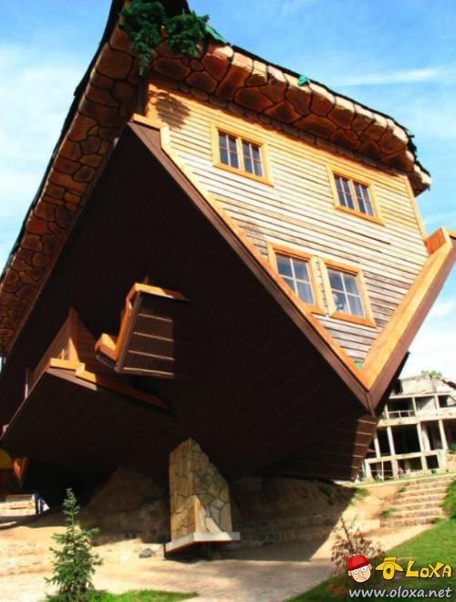 a casa invertida (1)