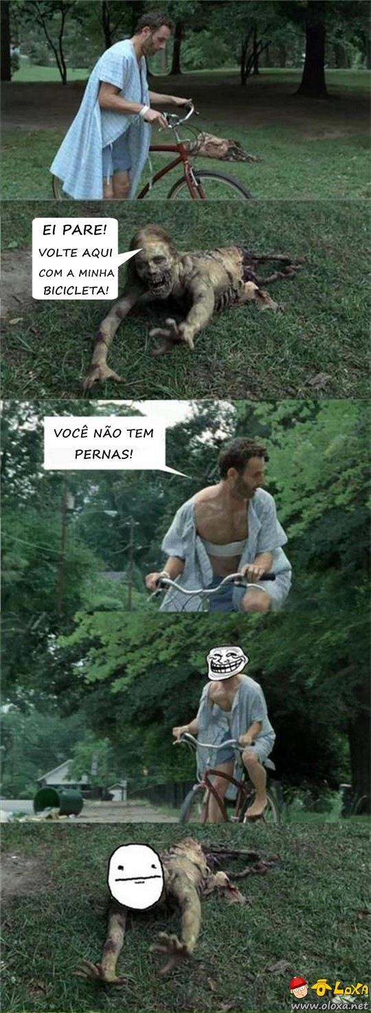 trollando the walking dead