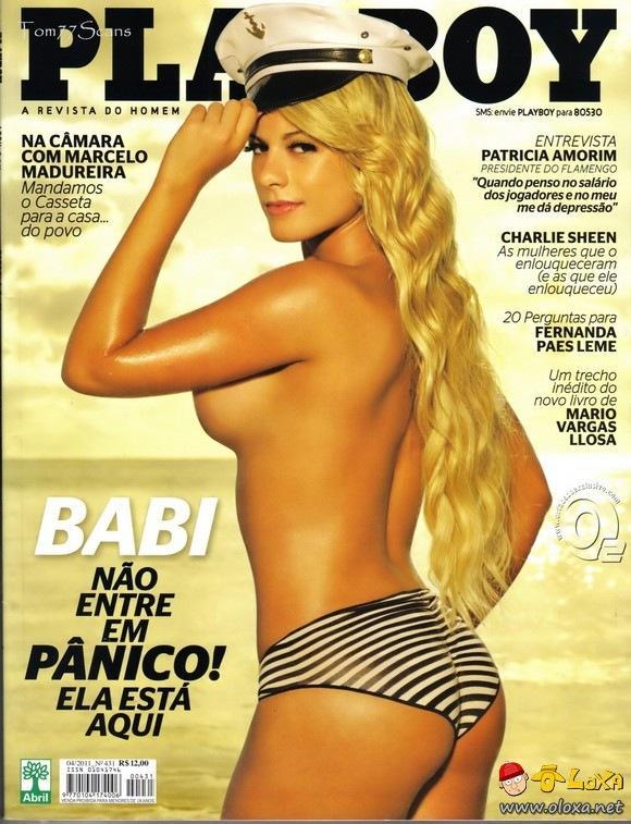 Playboy Babi Rossi do Pânico na TV