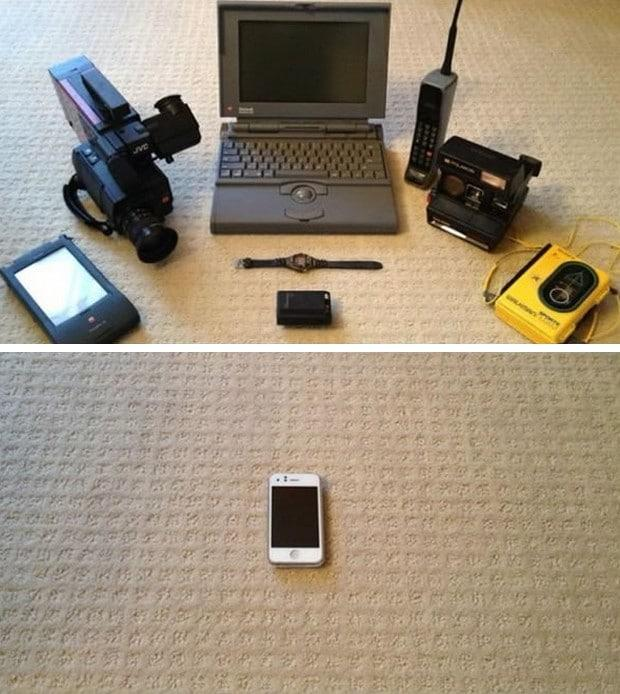 o lado bom da tecnologia