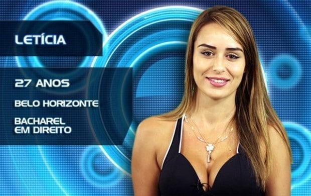 Caiu na net: Letícia do BBB14 pelada