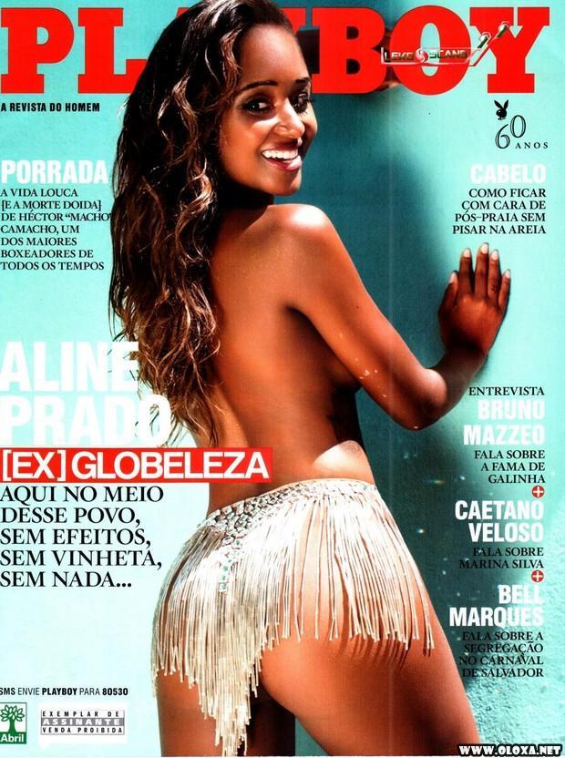 Playboy de Fevereiro - Aline Prado