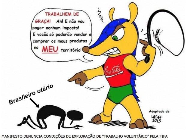 fifa escravizando brasileiro otario