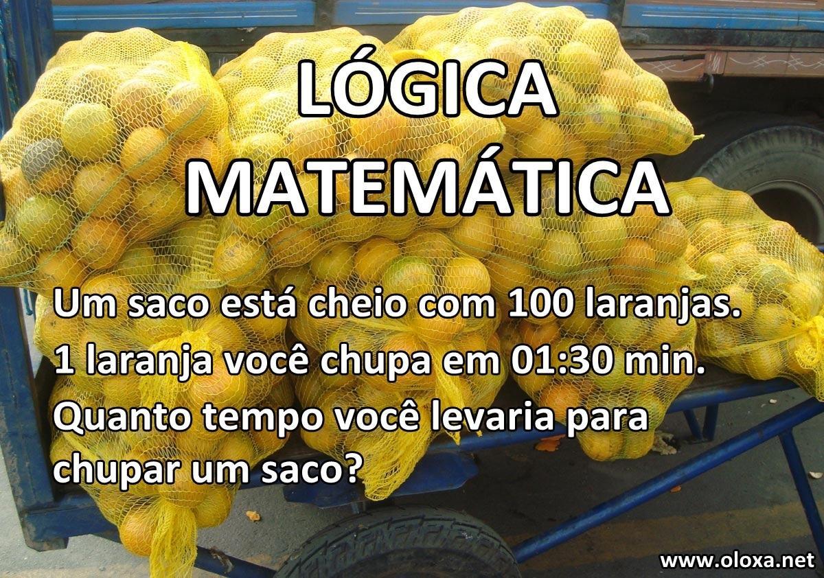 Apenas uma lógica matemática 63