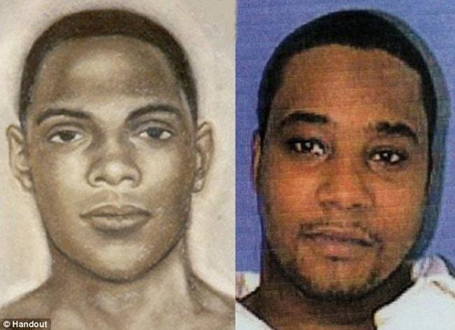 Retratos falados ao lado das fotos dos procurados. 293