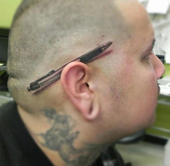 Tatuagens criativas e diferentes pelo mundo