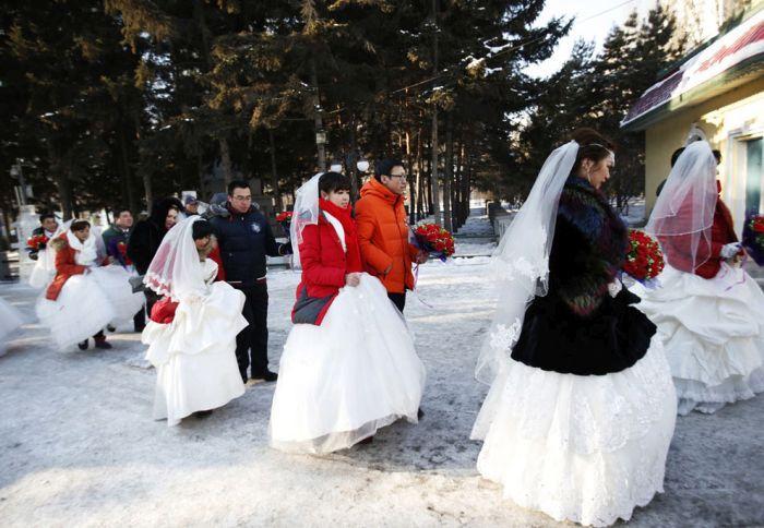 As esculturas surpreendentes do 2015 Harbin Ice E Festival de Neve (10)