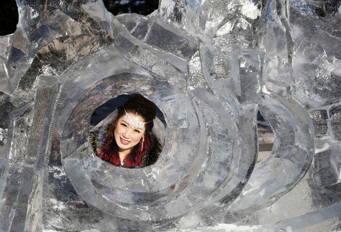 As esculturas surpreendentes do 2015 Harbin Ice E Festival de Neve (2)