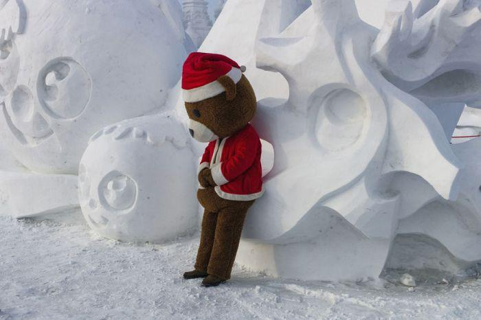 As esculturas surpreendentes do 2015 Harbin Ice E Festival de Neve (9)