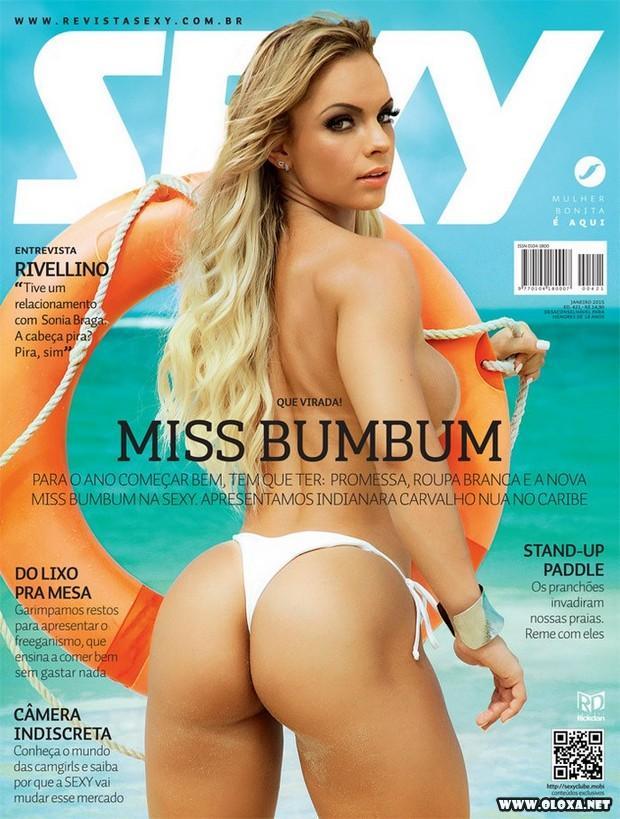Sexy de Janeiro - Indianara Carvalho (miss bumbum 2014)