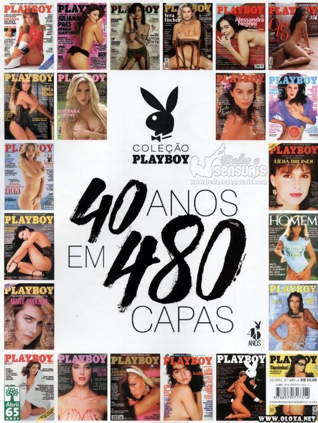 Playboy especial - 40 anos (480 capas)