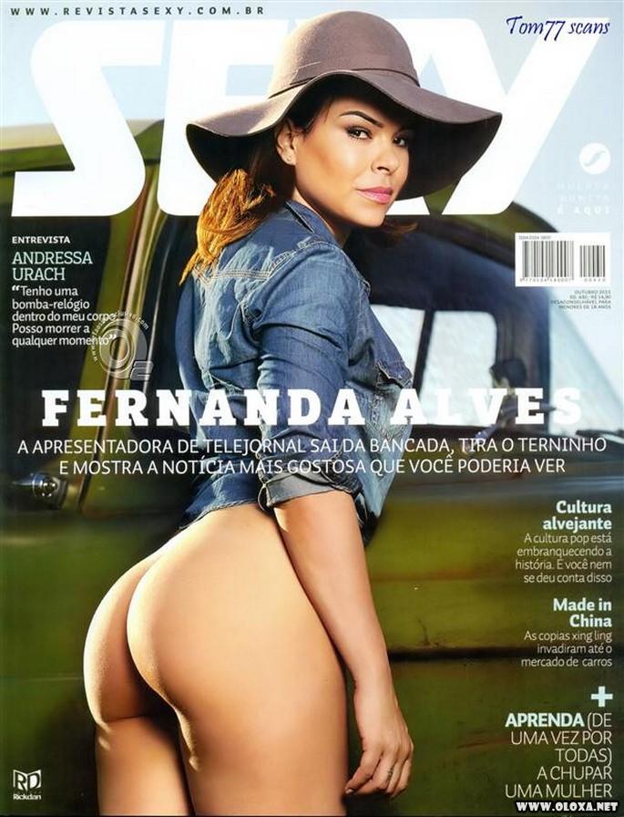 Fernanda Alves nua na Sexy