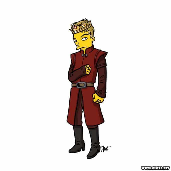 Personagens de Game Of Thrones estilo Os Simpsons 14