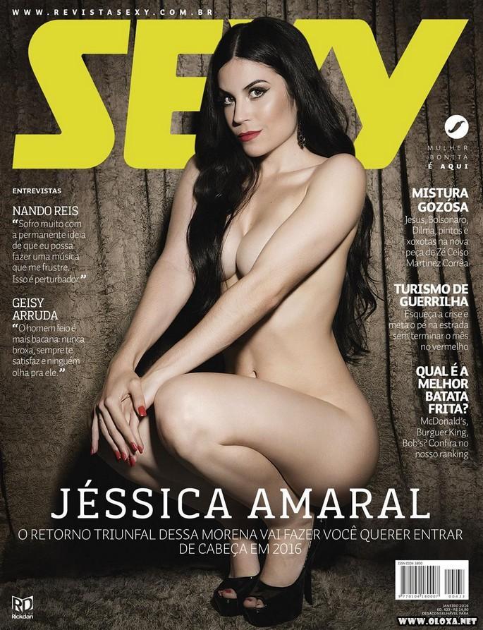 Jessica Amaral nua na Sexy de Janeiro