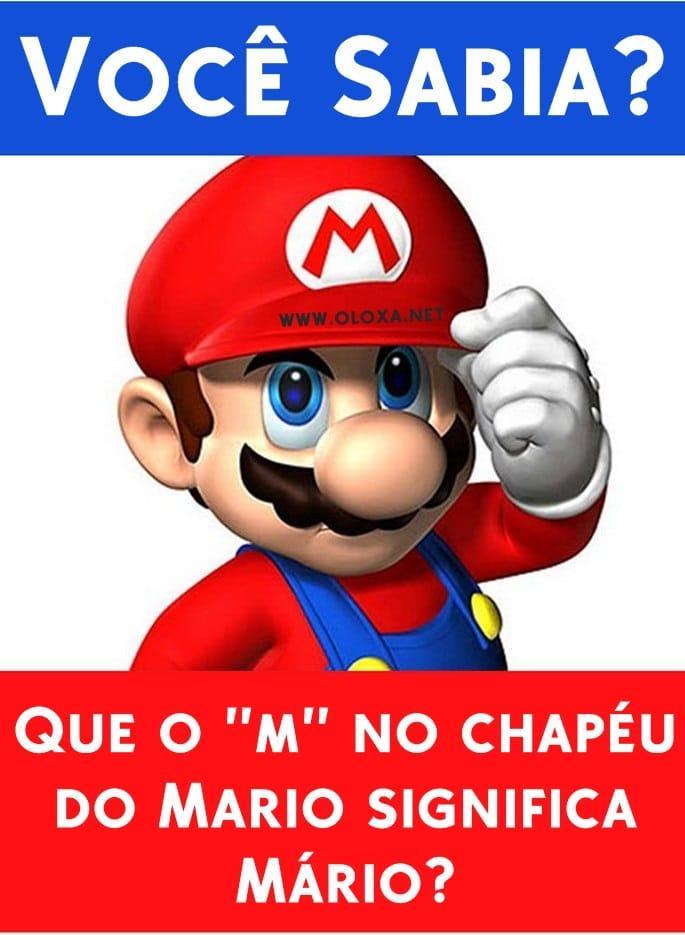 Curiosidade do Mario Bross