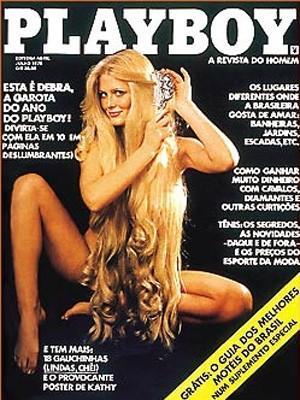 Debra - Primeira capa da Revista Playboy no Brasil