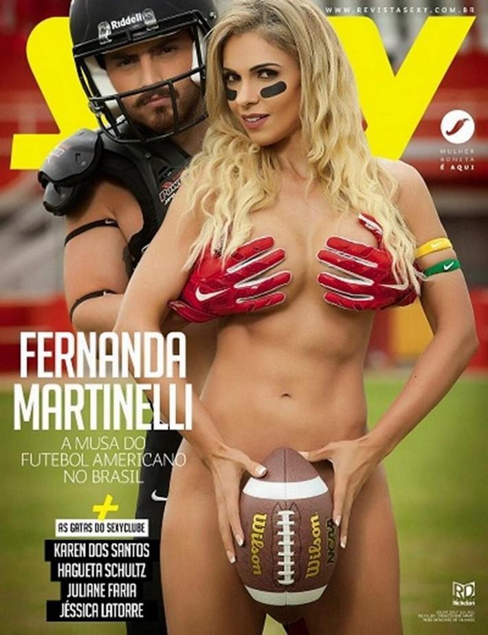 Fernanda Martinelli nua na sexy de 2017