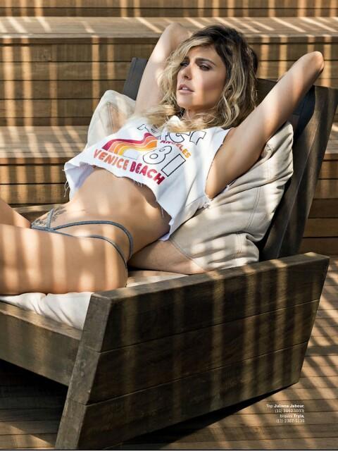 Fernanda Lima semi nua em um ensaio sensual pra revista VIP 14