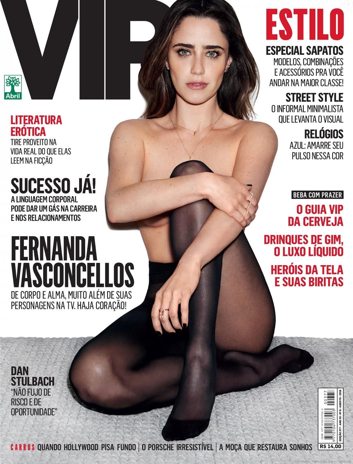 Fernanda Vasconcellos em ensaio sensual para a Revista VIP