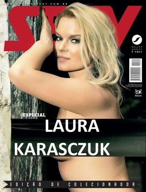Laura Karasczuk nua na revista sexy especial - Ex de Dirceu