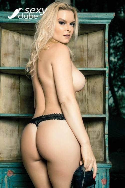 Laura Karasczuk nua na revista da sexy especial - Ex de Dirceu 42