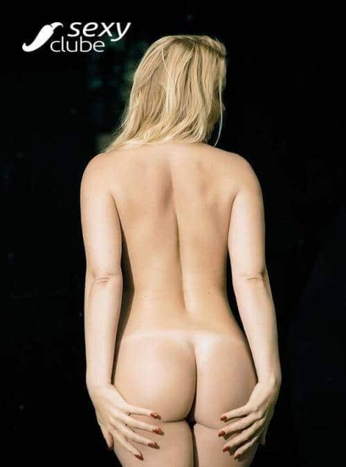 Laura Karasczuk nua na revista da sexy especial - Ex de Dirceu 76