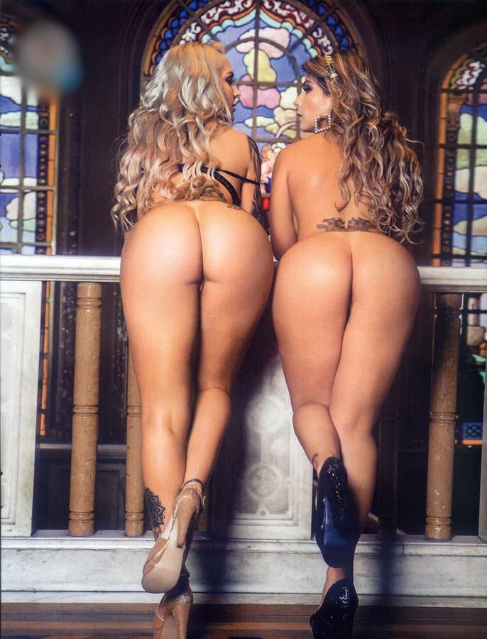 Vanessa Perez e Luanda Fraga nuas na Revista Sexy - Janeiro 44
