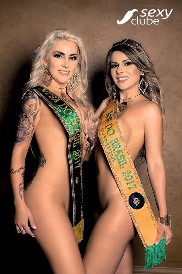 Vanessa Perez e Luanda Fraga nuas na Revista Sexy - Janeiro 35