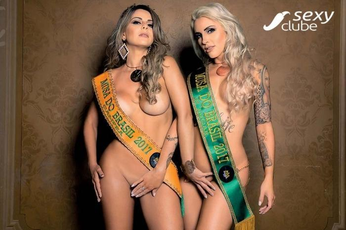 Vanessa Perez e Luanda Fraga nuas na Revista Sexy - Janeiro 34