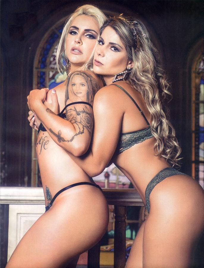 Vanessa Perez e Luanda Fraga nuas na Revista Sexy - Janeiro 39