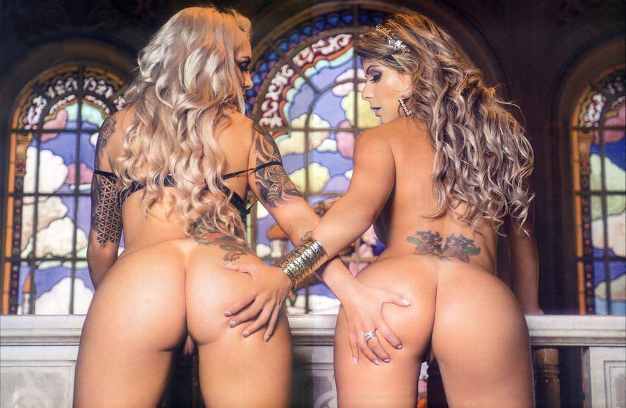 Vanessa Perez e Luanda Fraga nuas na Revista Sexy - Janeiro 42