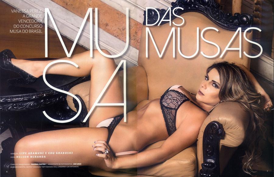 Vanessa Perez e Luanda Fraga nuas na Revista Sexy - Janeiro 37