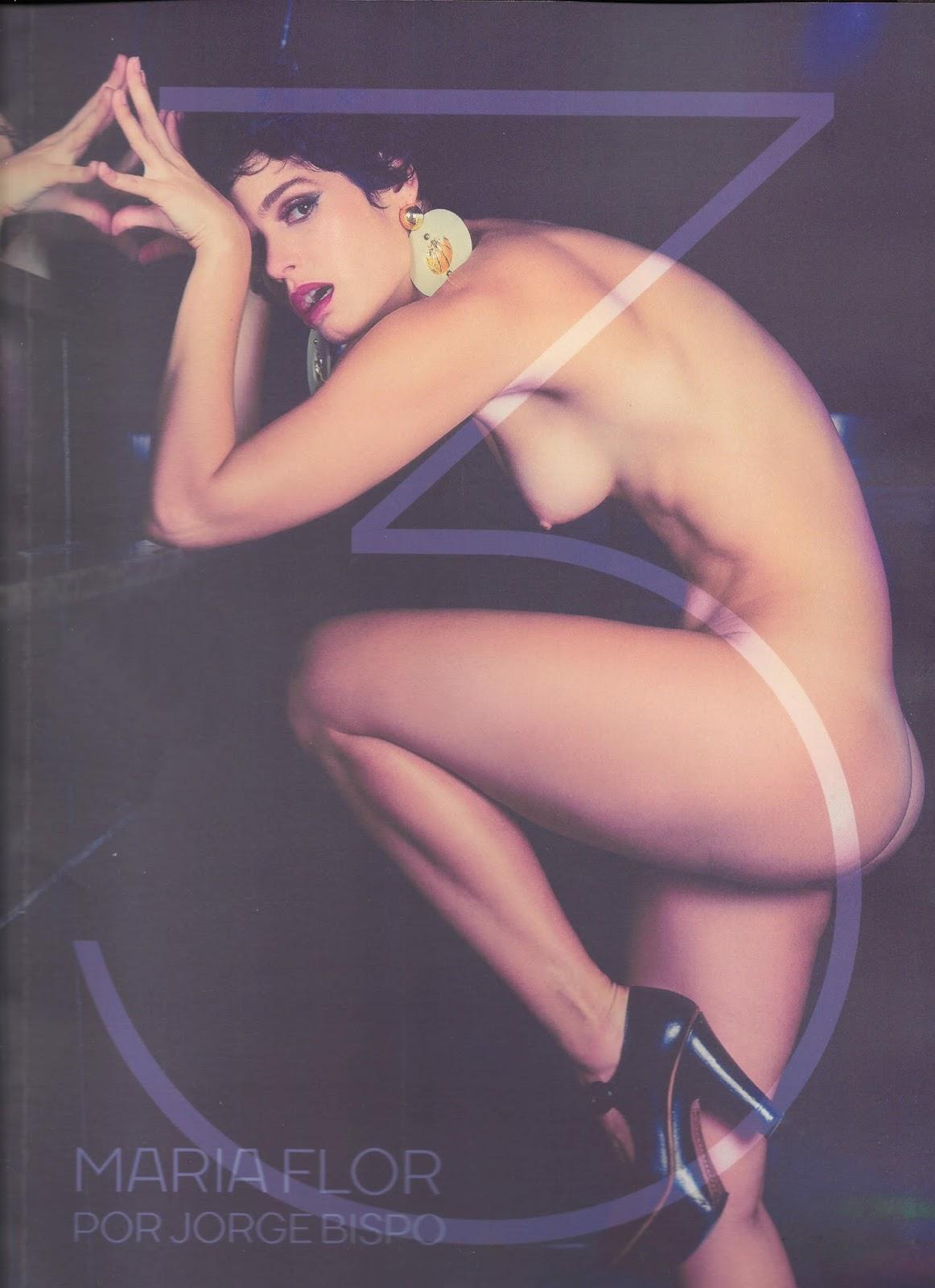 Maria Flor nua na Revista #3