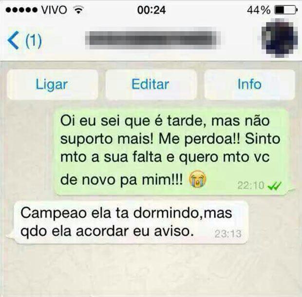 Alguns prints de conversas muito engraçadas no Whatsapp oloxa prints do wpp10
