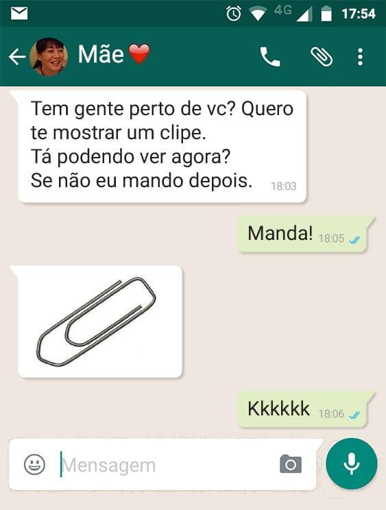 Alguns prints de conversas muito engraçadas no Whatsapp oloxa prints do wpp8