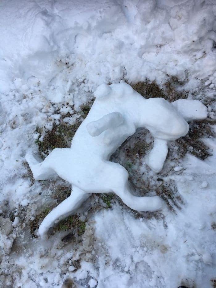 Veja a criatividade das pessoas quando neva no Japão 19