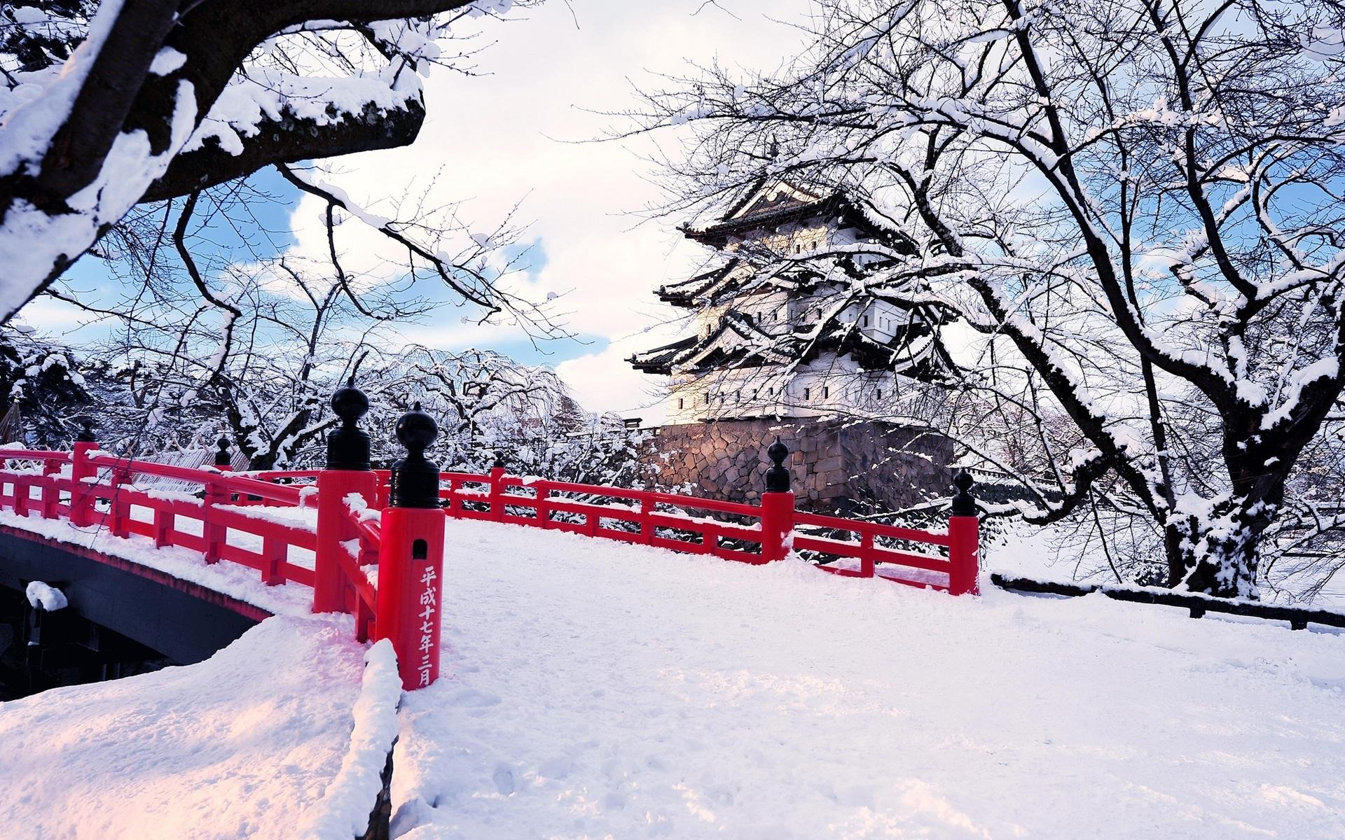Veja a criatividade das pessoas quando neva no Japão