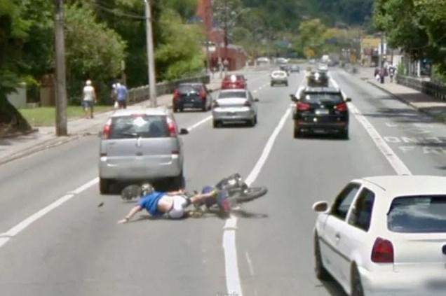 Algumas imagens flagradas pelo Google Maps