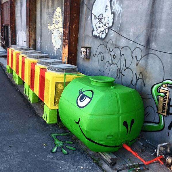 Conheça o artista que mudou a cara da cidade com o grafite 6