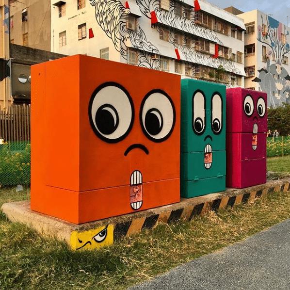 Conheça o artista que mudou a cara da cidade com o grafite 7