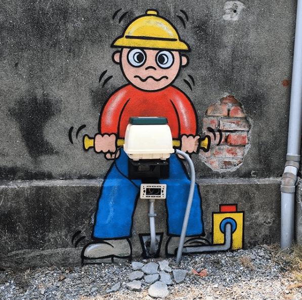 Conheça o artista que mudou a cara da cidade com o grafite 8