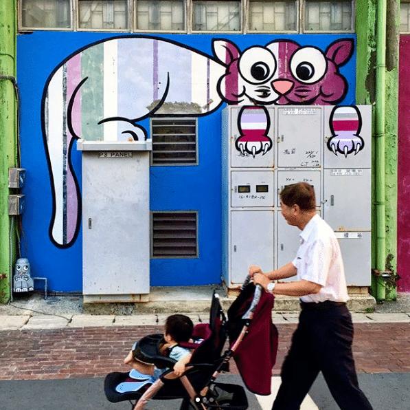 Conheça o artista que mudou a cara da cidade com o grafite 10