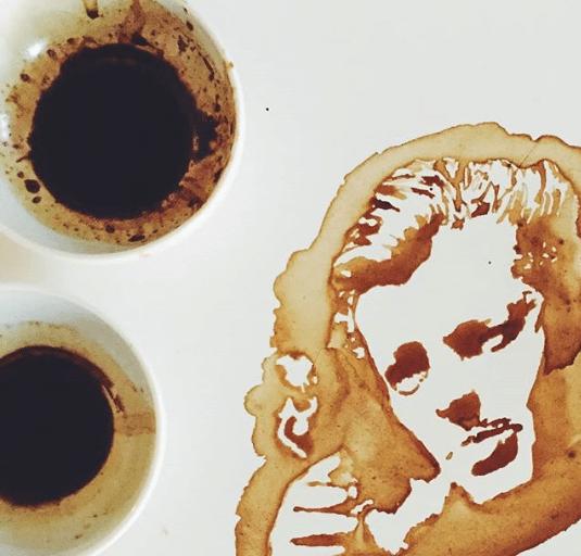 Veja o artista que transforma café derramando em imagens fantásticas 7