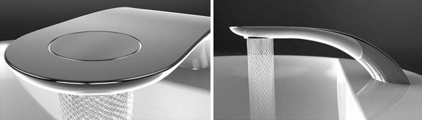 Veja a torneira mais elegante do mundo que ajuda a economizar água