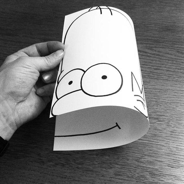 Artista faz desenho 3D com apenas dois materiais 22