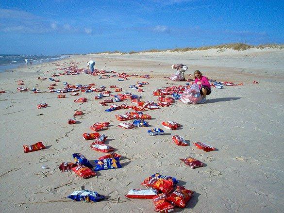 Coisas bizarras encontradas em praias que você não sabia 6